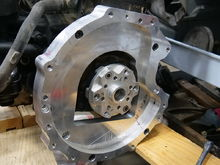 This is 3.0 delete version 1 (or ALH to R150). I made the crank adapter out of aluminum as a test just for the sake of time--and so I didn't have to clean out the mill just to run some steel. I wanna get it in the truck next week.
