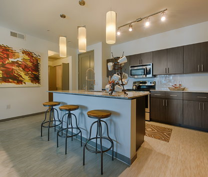 Image Of Elevation On Central Luxury Apartments In Phoenix, AZ