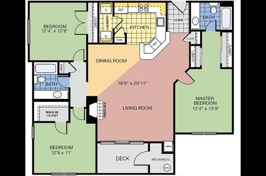 Reviews & Prices for The Apartments at Harbor Park, Reston, VA