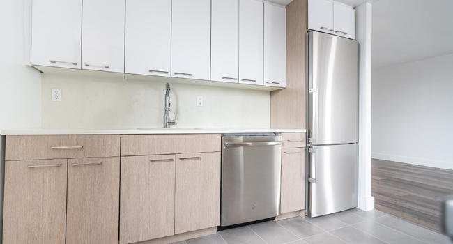 Renovated Kitchens with Stainless Steel Appliances