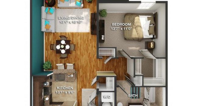 Camelot at Gateway - 85 Reviews | Carteret, NJ Apartments