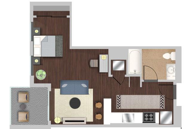 Berkshire K2LA - 34 Reviews   Los Angeles, CA Apartments for